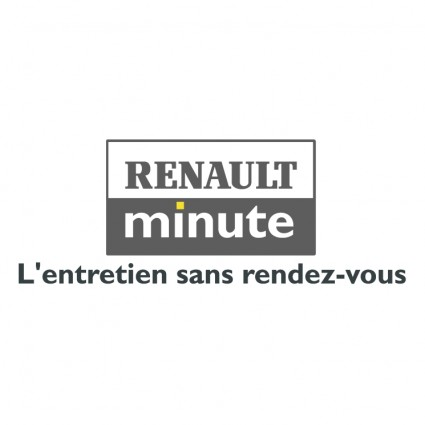 Label Renault Minute